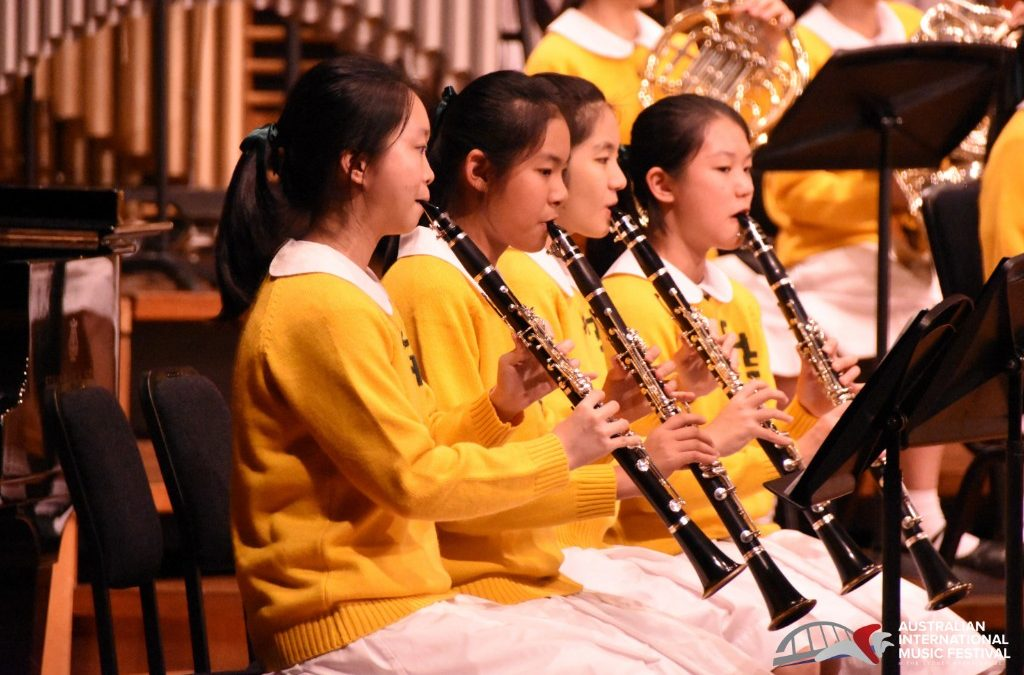Over 1,000 Young Musicians Attend The 29th Australian International Music Festival